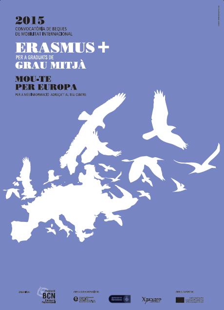 Cartell Erasmus+ Formació Professional 2015