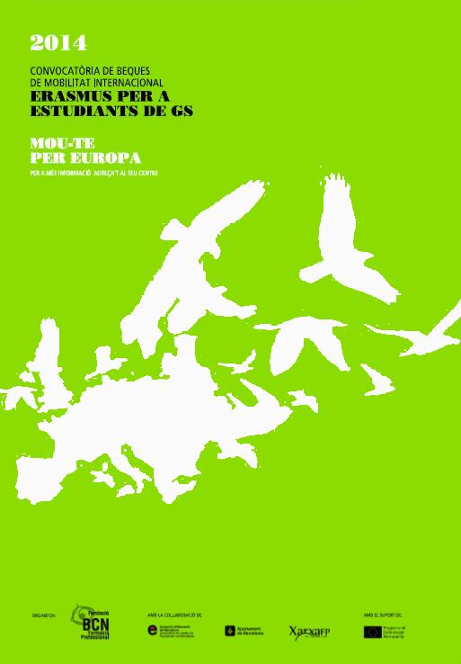 Cartell Erasmus Grau Superior 2014