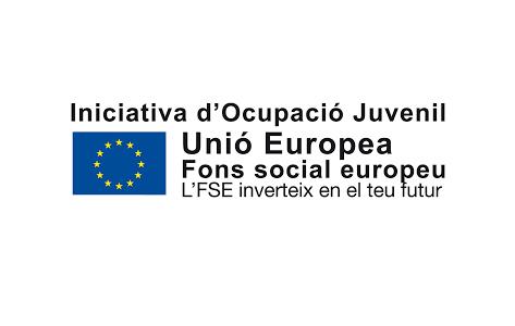 Logo Iniciativa d'Ocupació Juvenil Unió Europea